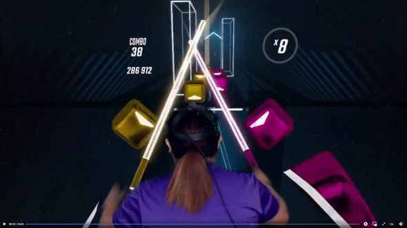My Virtual Reality Experience – Oculus Quest, Beat Saber